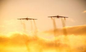 Военные заявили об отработке ВВС США ударов по Калининградской области
