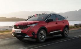 Кроссовер Peugeot 3008 в новом поколении может обрести купеобразную версию