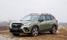 Рестайлинг Subaru Forester 2021