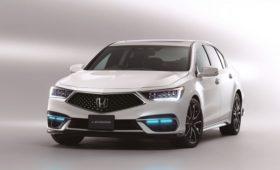 Honda Legend стал беспилотным, но будет сделано только 100 штук и только для Японии