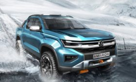 Volkswagen навёл резкость на новый Amarok: второй тизер, премьера в 2022 году