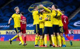 Грузия проиграла Швеции в первом отборочном матче на ЧМ-2022