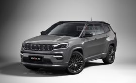 Компактный семиместный кроссовер Jeep: новые изображения