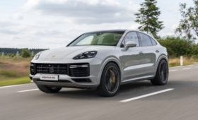 Рестайлинг Porsche Cayenne Coupe 2022