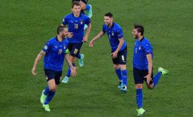 Сборная Италии первая вышла в плей-офф Евро-2020