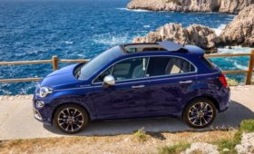 «Недокабриолет»: паркетник Fiat 500X получил мягкую сдвижную крышу
