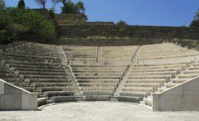 Солисты Большого театра впервые выступили в древнем театре в Афинах