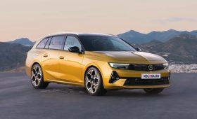 Новый Opel Astra Sports Tourer 2022