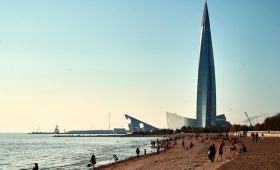 Путин назвал доходы Петербурга от переезда «Газпрома»»/>