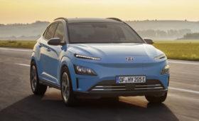 Hyundai обновил «зелёную» Kona: кроссовер стал длиннее, но остался с прежней начинкой