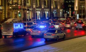 Пробки в Москве достигли девяти баллов