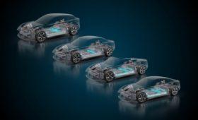 Italdesign и Williams сделали электромобильную платформу с батареей-монококом